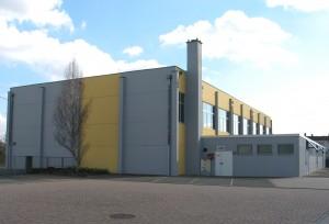 Le gymnase du collège à Lauterbourg
